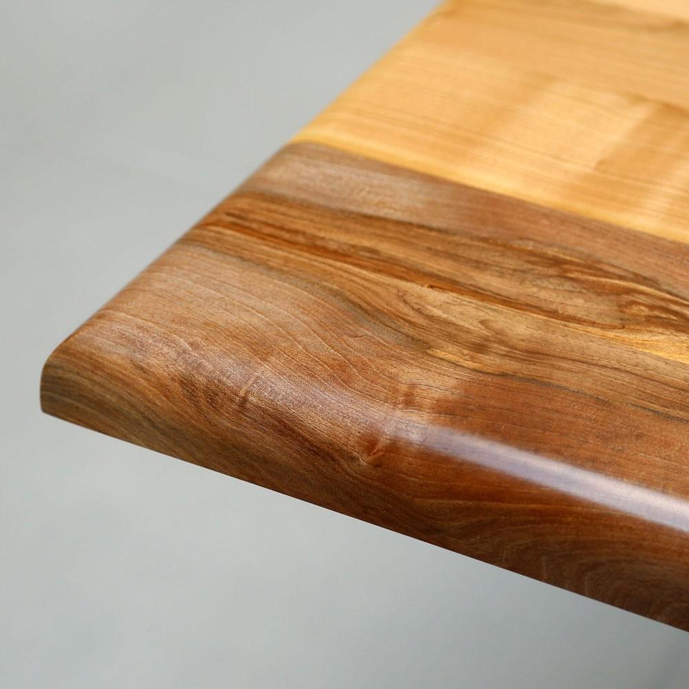 Tischplatte aus massivholz holzgesp r - Tischplatte ecke ...