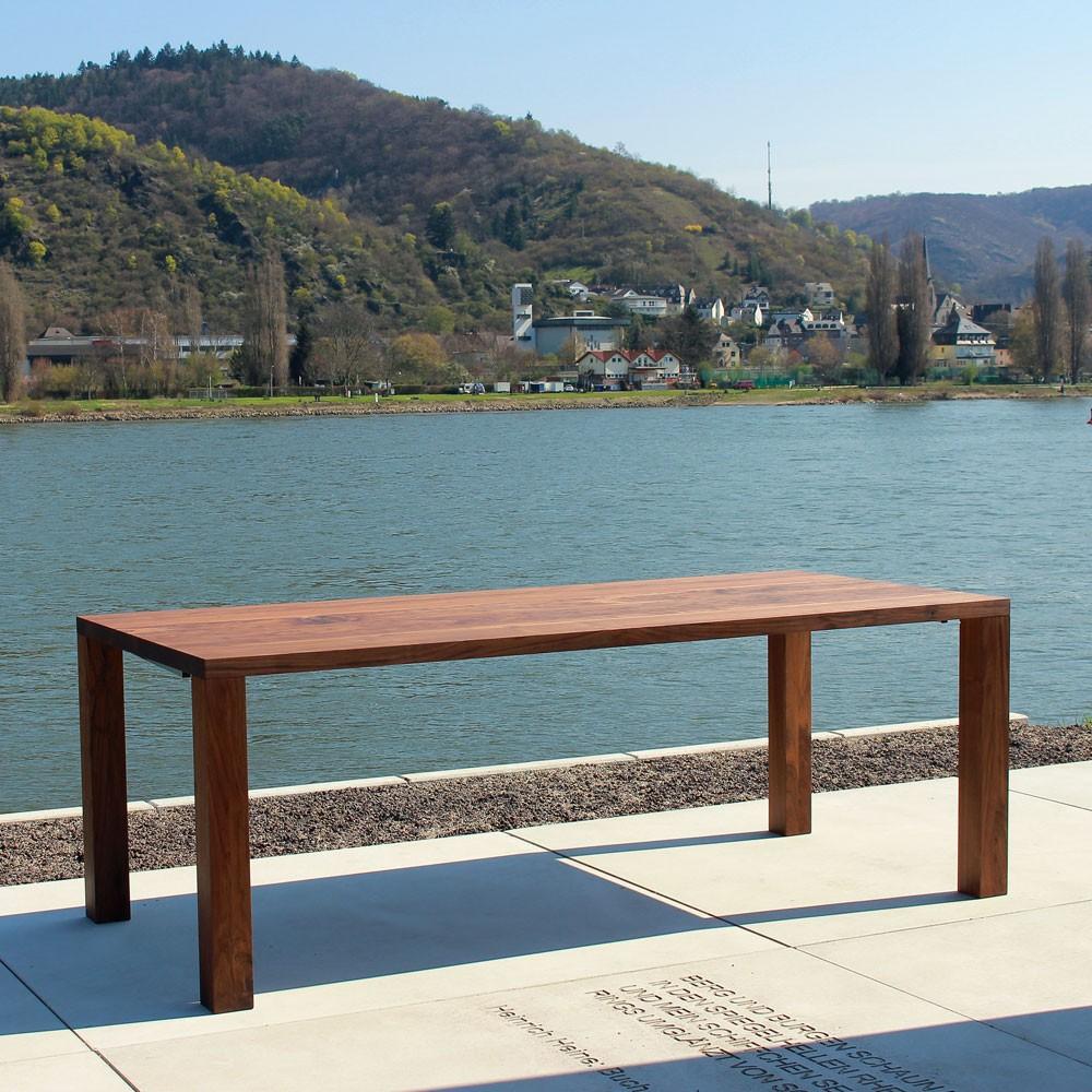 Tisch Zargenlos ~ Schreibtisch und Esstisch  holzgespür