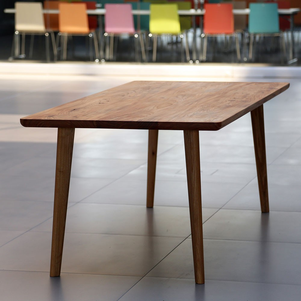 Tischplatte massivholz rund neuesten for Ohrensessel schmal