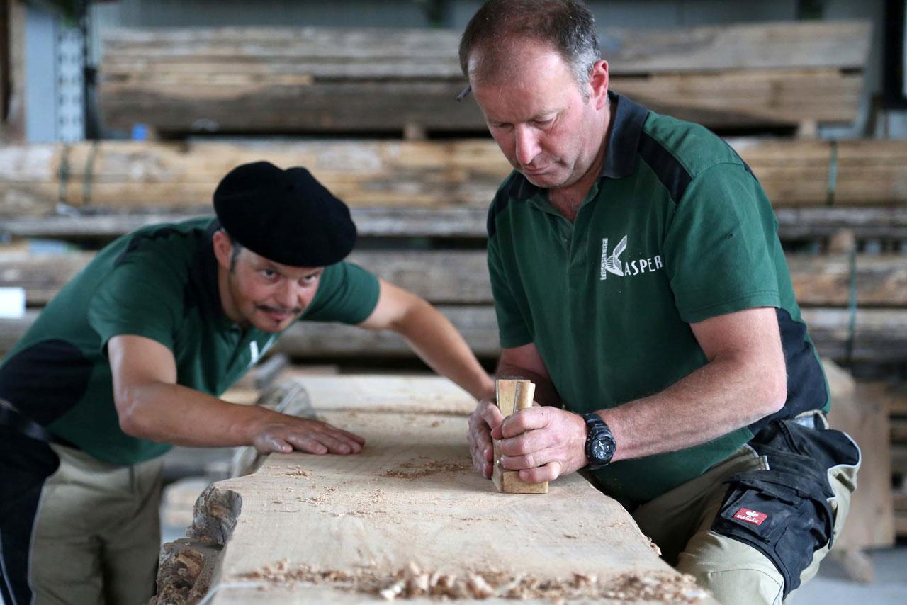 Tischlerei Massivholz Treppenbau