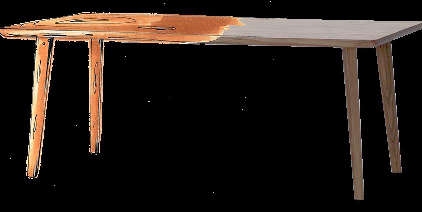 Esstisch nach Maß aus Massivholz