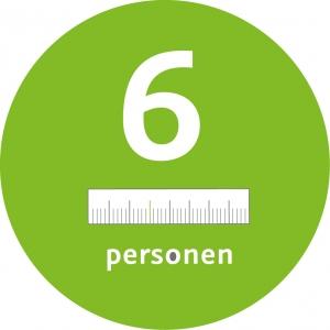 6 personen