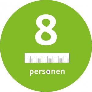 8 Personen