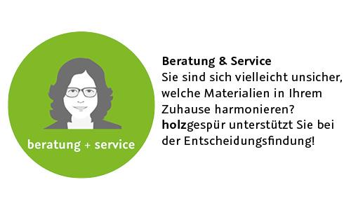 Beratung und Service holzgespür