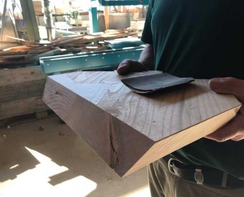Holzauswahl