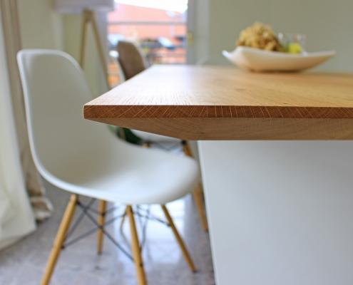 Tisch Eiche Schweizer Kante