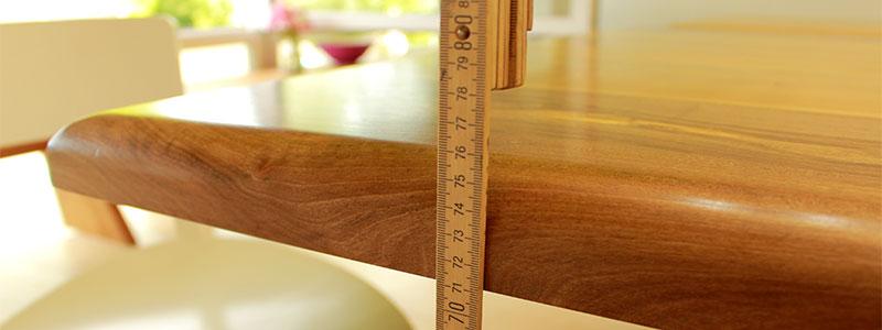 Tischhöhe
