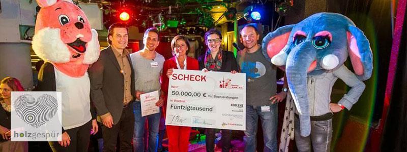 Startup Slam Koblenz holzgespür