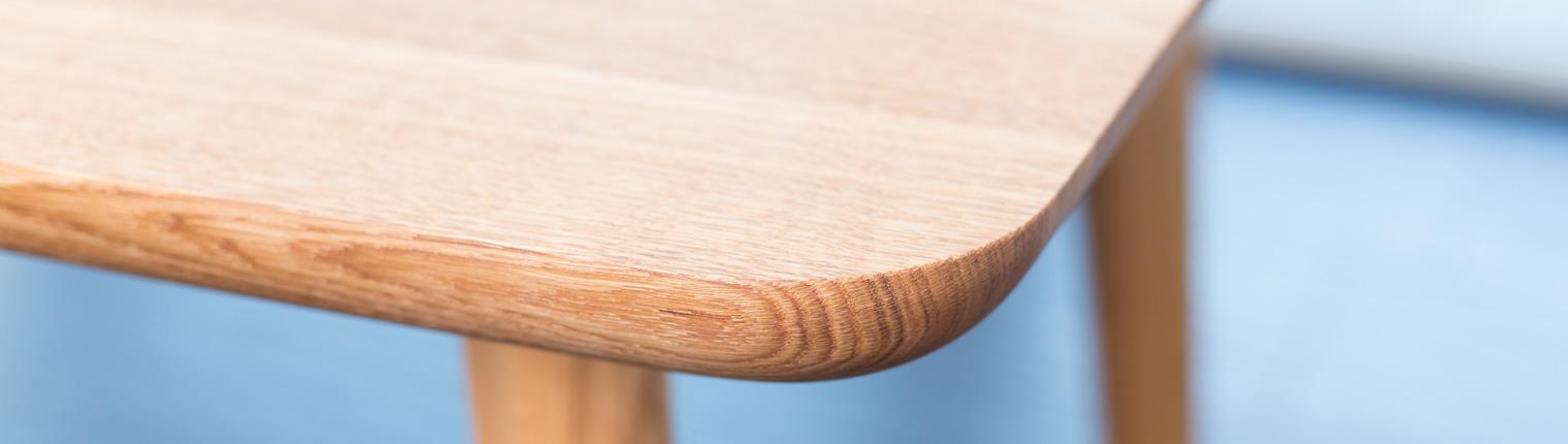 Esstisch Tischkanten Form