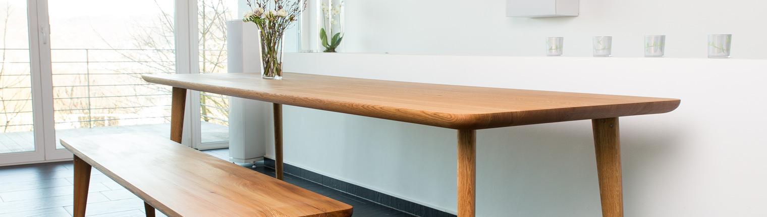 Esstisch Eiche Modern Holzgespür Esstisch Nach Maß