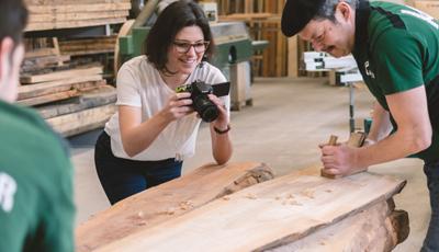 Massivholztisch Holzauswahl