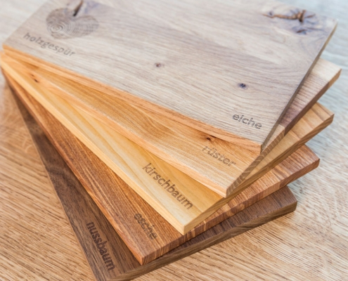 Holzmuster online bestellen